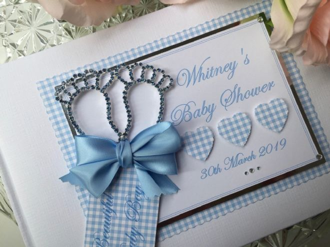 Baby Shower Guest Book - Personalised